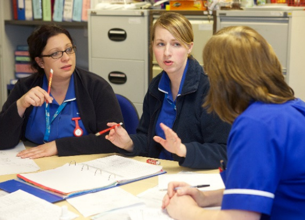 Image link to Patients in Halton, St Helens and Knowsley benefit from community nurse's POWERWAND innovation news story