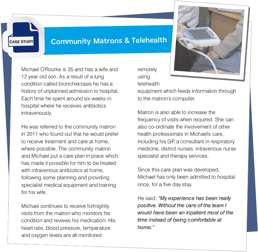 Case Study: Community Matrons