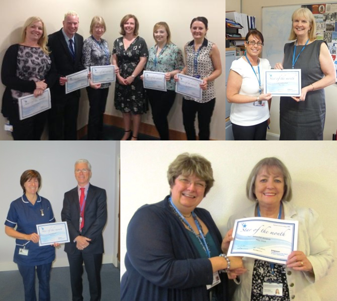 Stars of the Month for May 2014
