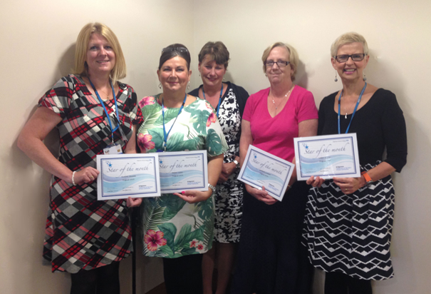Stars of the Month for August 2014