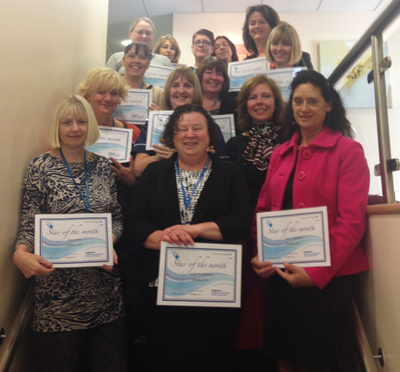 Stars of the Month for October 2014