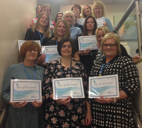 Stars of the Month for November 2014