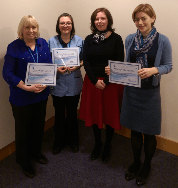 Stars of the Month for February