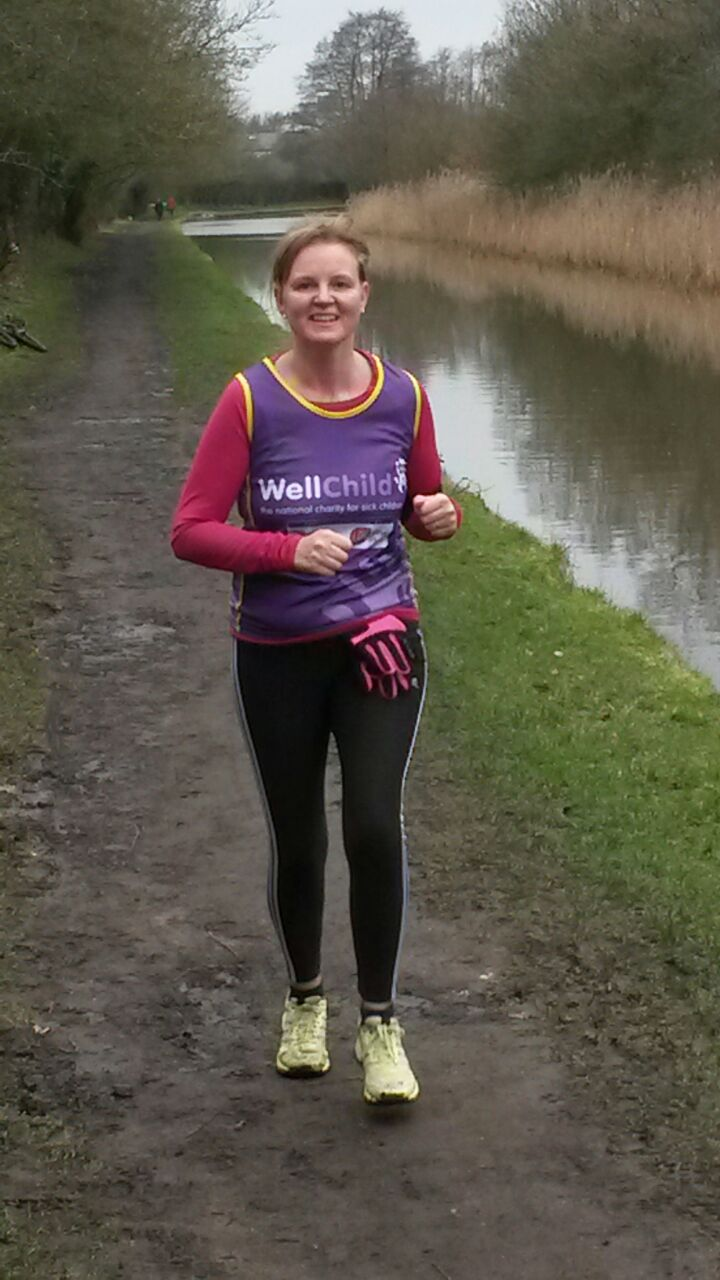 Gill S Marathon Run For Wellchild The National Charity
