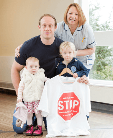 England rugby star supports Stop the Pressure campaign