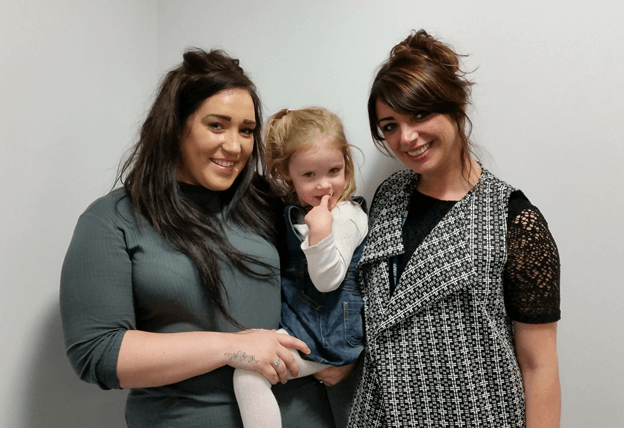 Leigh Nurse Lisa transforms young mum's life