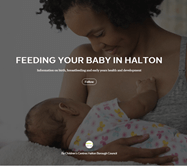 Feeding your baby in Halton magazine