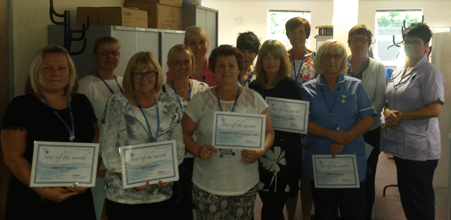 Stars of the month July 2016