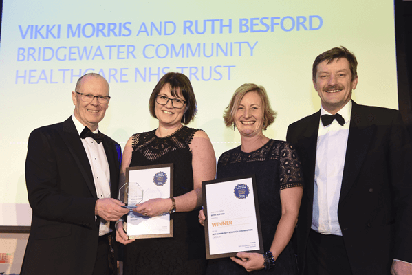 Local NHS Team wins prestigious Greater Manchester Clinical Research Award