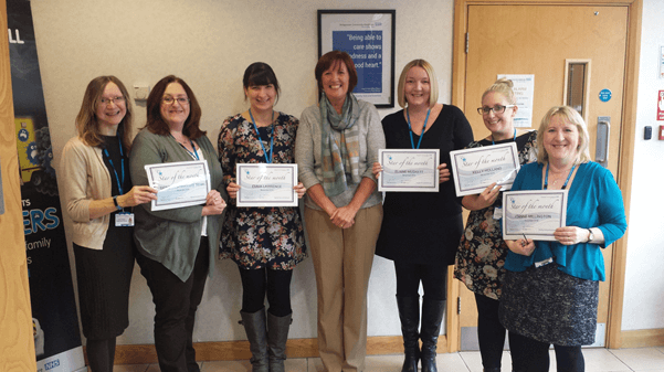 Stars of the Month for November 2016 East