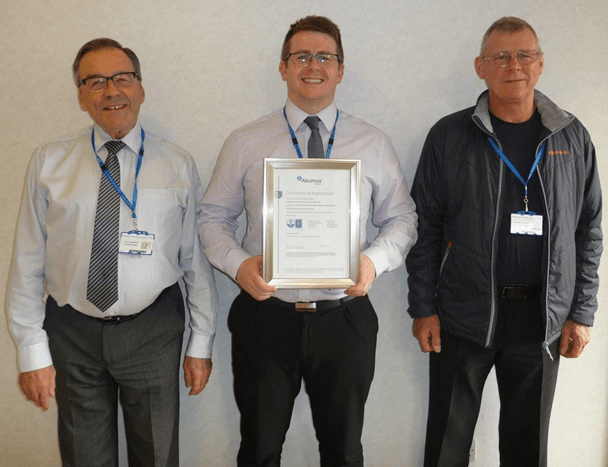 Bridgewater celebrated for its outstanding commitment to the environment