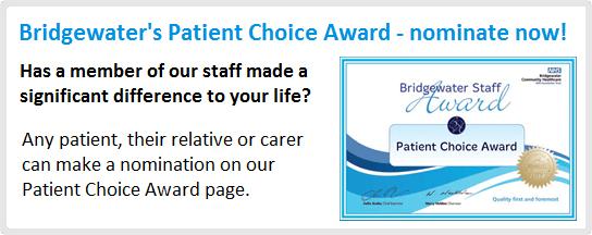 Patient Choice Award