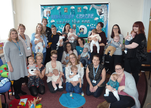 Halton's Infant Feeding Clinic marks its first six months with celebration event