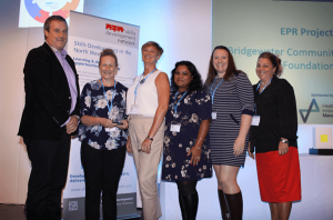 Warrington NHS IT team win a 2017 North West Skills Development Network Informatics Award