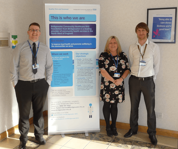 National award nominations for Bridgewater Community Healthcare NHS Foundation Trust's unsung heroes