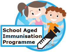 School aged immunisation programme icon