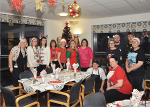 NHS Trust teams up with Belong Care Village to host Christmas dinner for vulnerable families