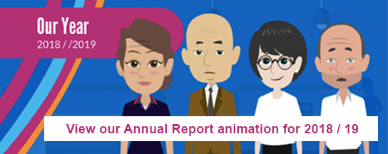 Annual report animation video