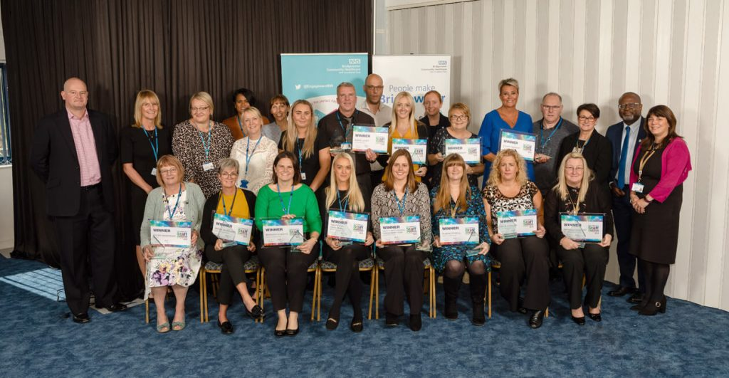 Bridgewater Staff Awards Winners 2019