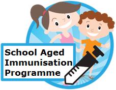 School aged immunisation programme icon