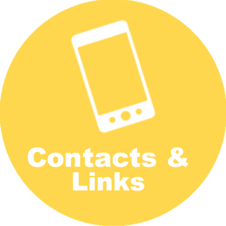 Links to contacts and links page